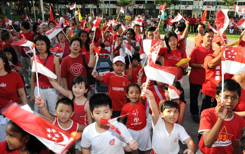 """""""the singapore national identity is created Government has tried to generate a sense of national identity in singapore   identity because it would favor one group over another and create tensions."""